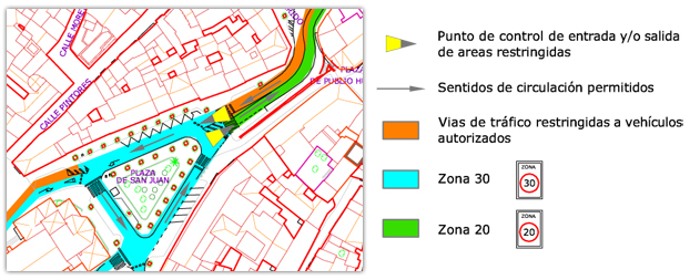 Plano tráfico Centro Histórico