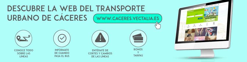 Autobuses urbanos de Cáceres