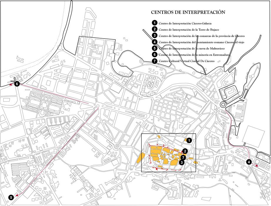 Centros de Interpretación de Cáceres