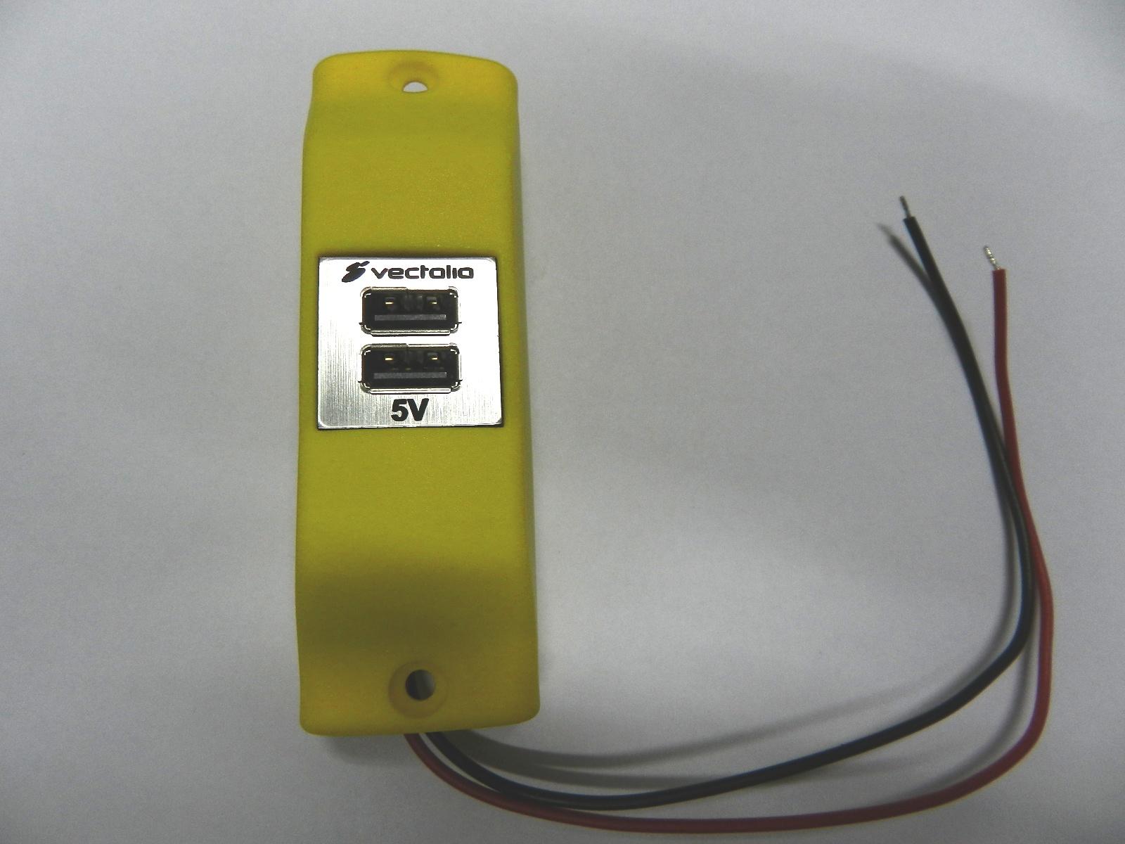 USB Cargador en Autobuses