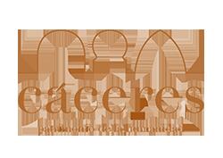 Logo Cáceres Patrimonio de la Humanidad