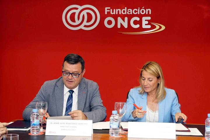 Firma convenio ONCE y Ciudades Patrimonio