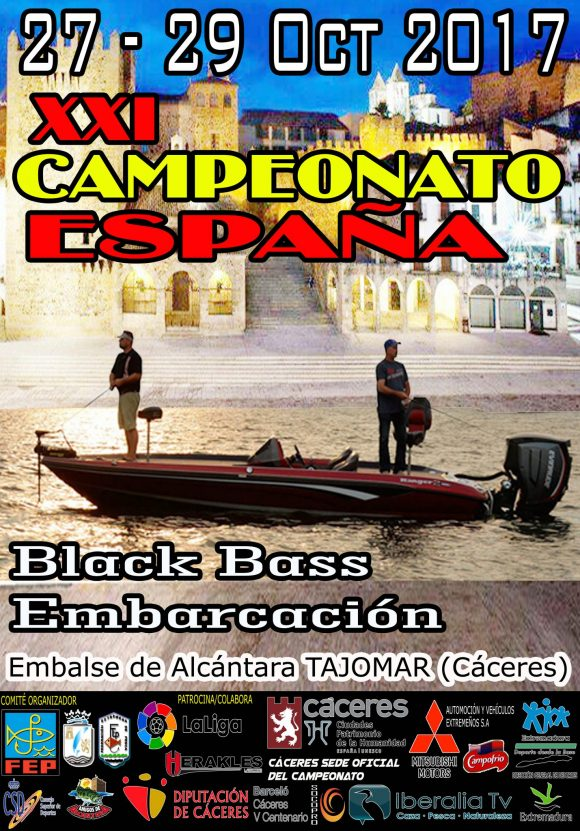 XXI CAMPEONATO DE ESPAÑA PESCA BLACK-BASS DESDE EMBARCACIÓN