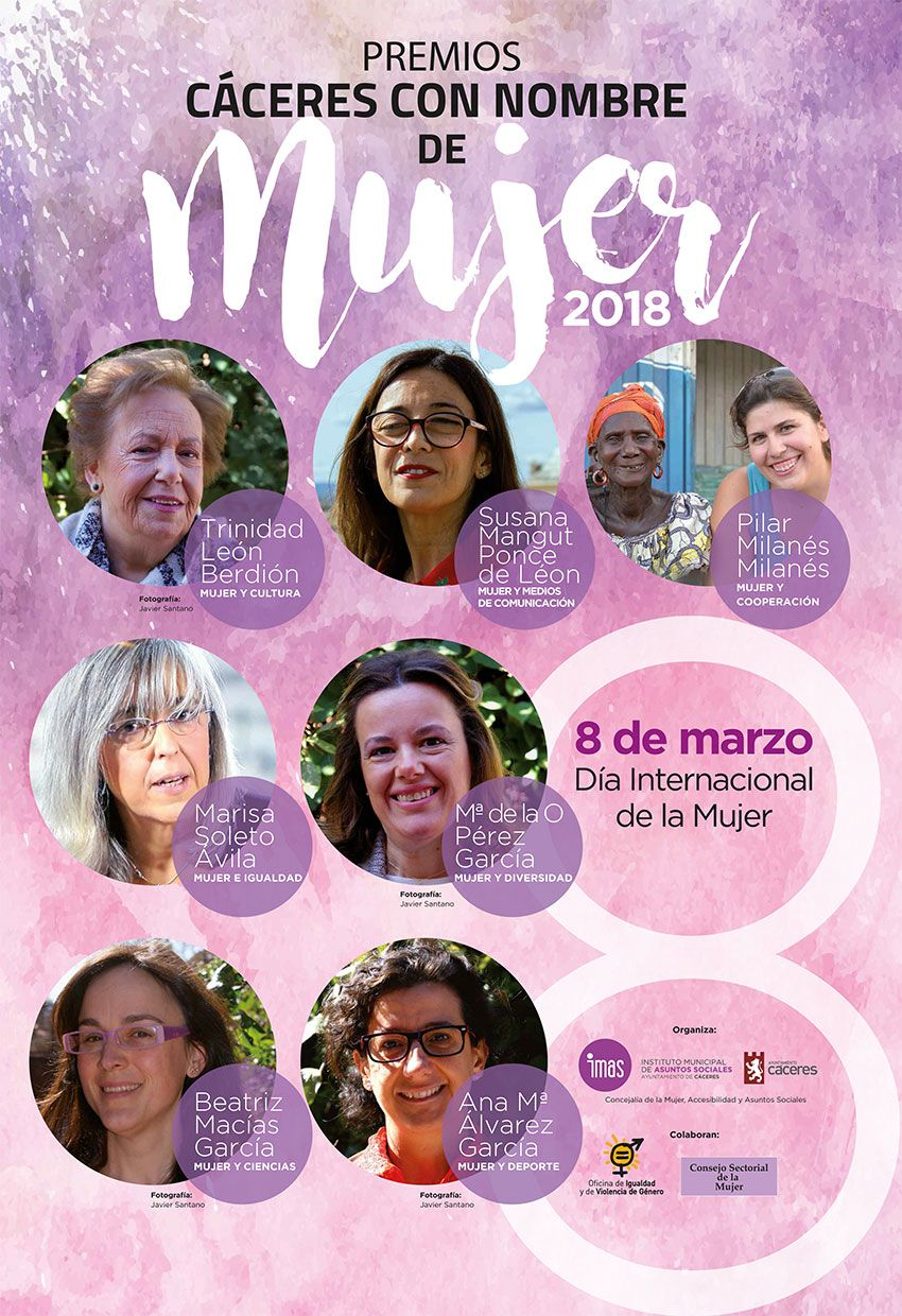 Cartel Mujer 2018