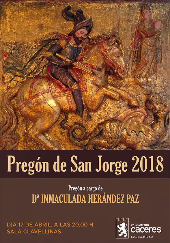 Pregón de San Jorge 2018