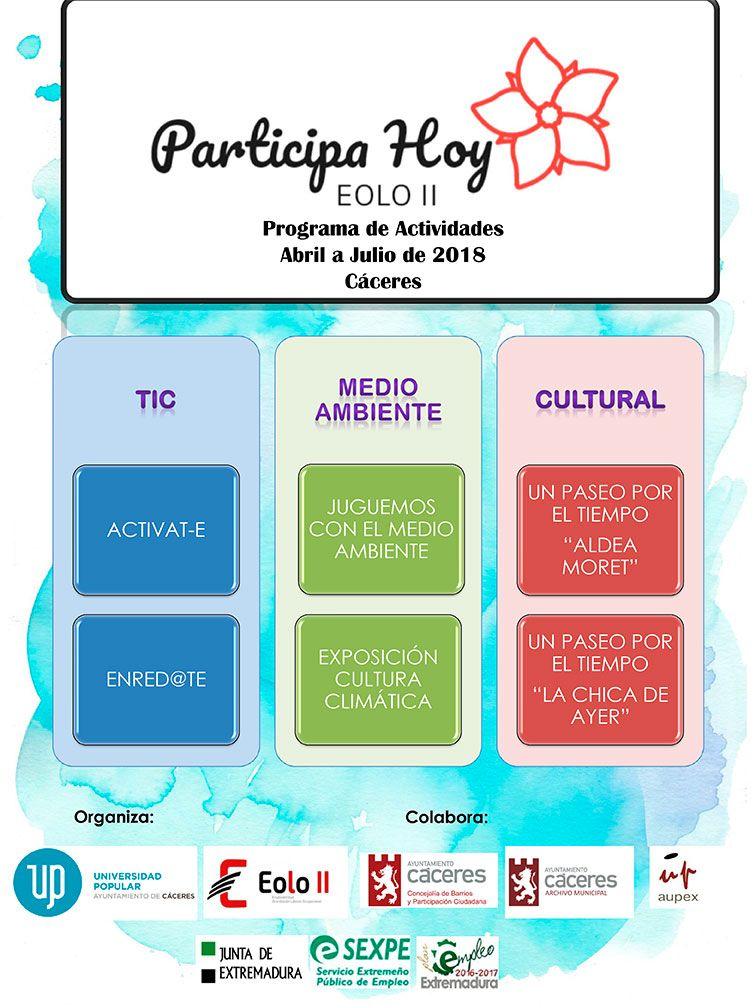 """Programa """"Participa Hoy"""""""