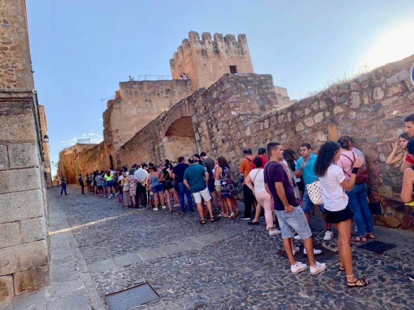 2266 personas visitaron la Torre del Horno durante la jornada de puertas abiertas