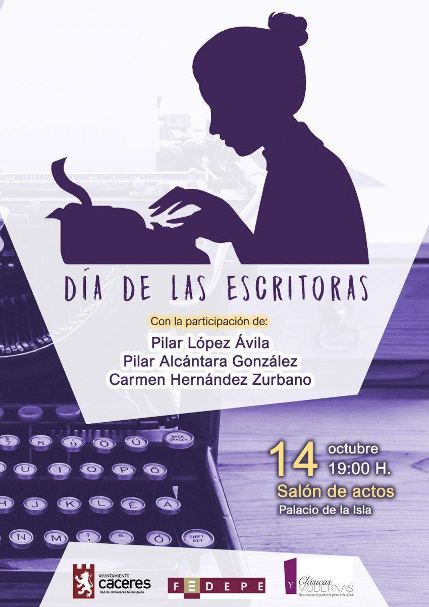 IV DÍA DE LAS ESCRITORAS: MUJERES, AMOR Y LIBERTAD Escrito por Prensa