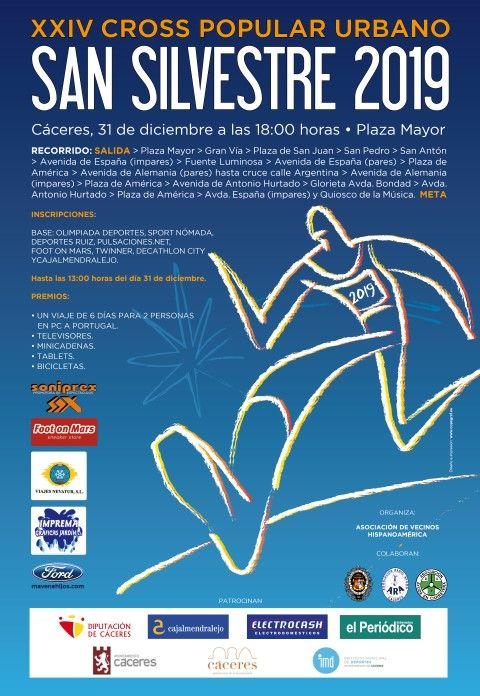Cartel San Silvestre 2019