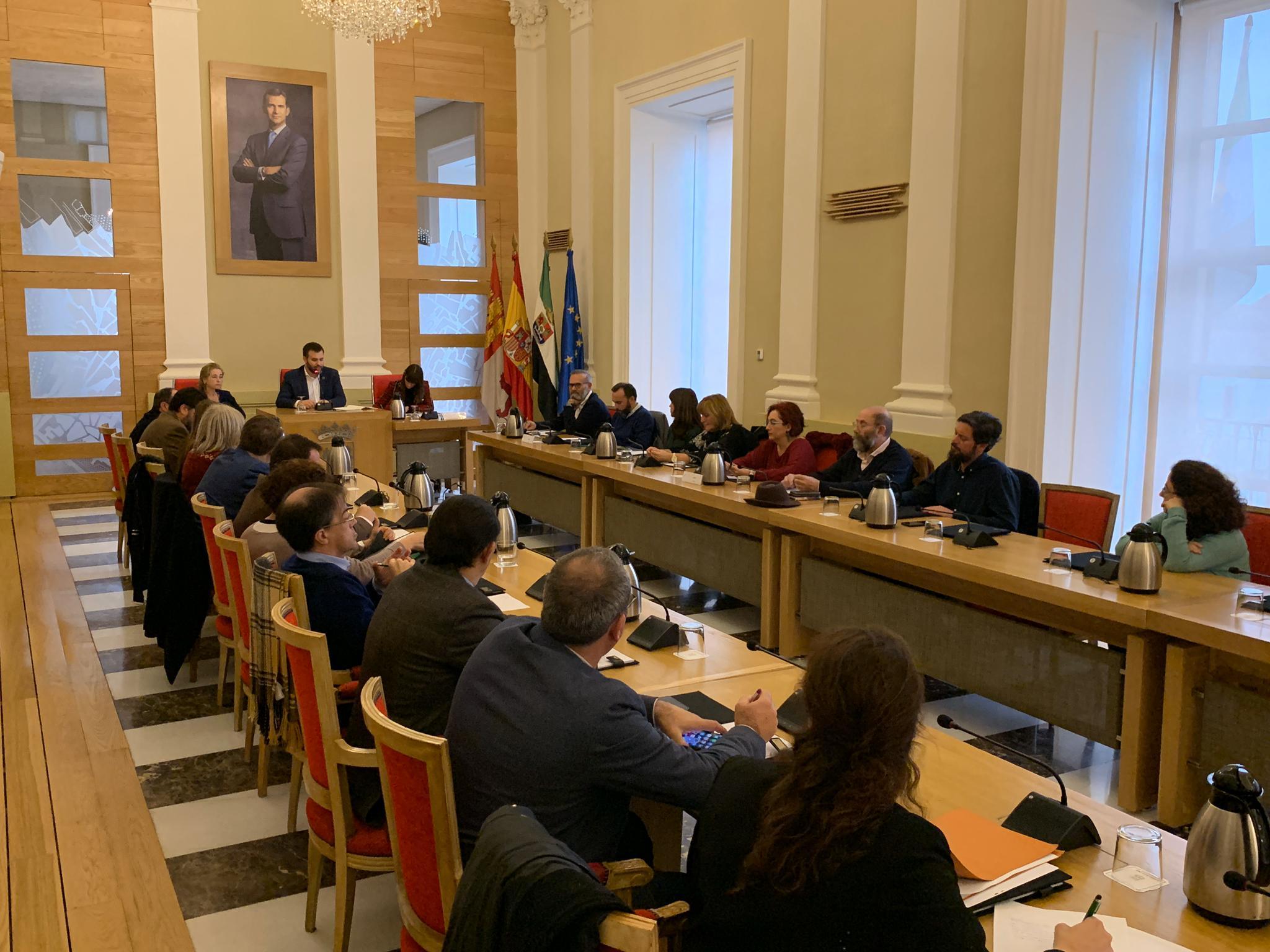 Pleno Institucional del Consejo Económico y Social de Extremadura