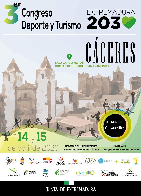 Cartel III Congreso Deporte y Turismo