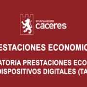 Convocatoria de Prestaciones Económicas para la adquisición de Tablets