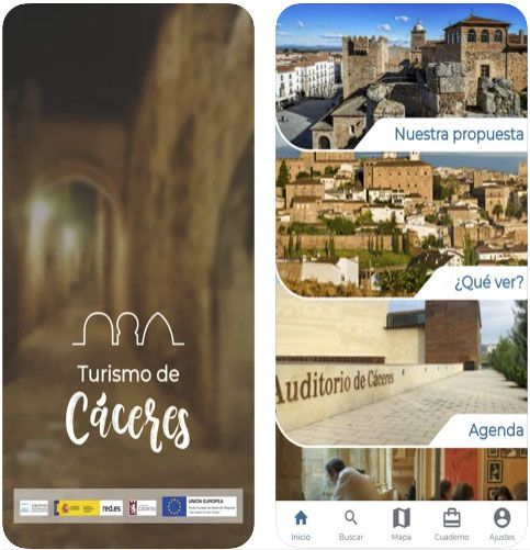 App Turismo de Cáceres
