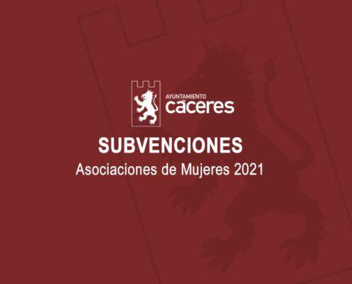 Convocatoria plan de Subvenciones para Asociaciones de Mujeres 2021
