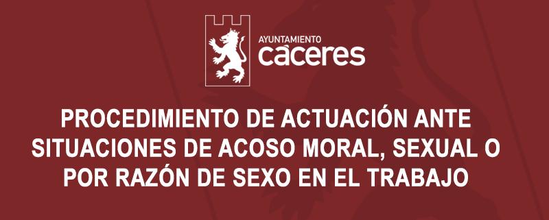 PROCEDIMIENTO DE ACTUACIÓN ANTE SITUACIONES DE ACOSO MORAL