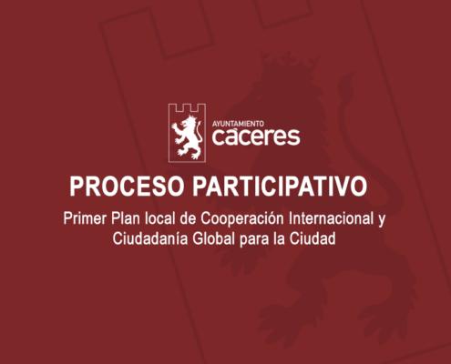 Primer Plan local de Cooperación