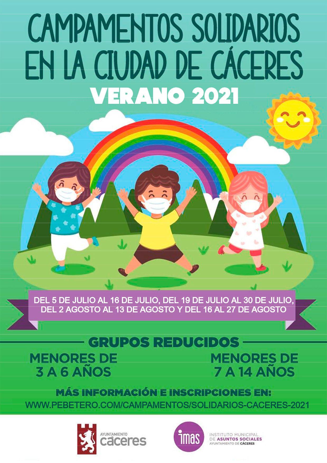 Campamentos solidarios 2021