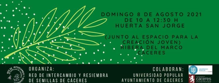 Intercambio de semillas en Cáceres