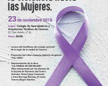 Día Internacional de la Eliminación de la Violencia hacia las Mujeres