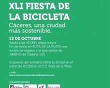 Cortes de tráfico con motivo de la Fiesta de la Bicicleta