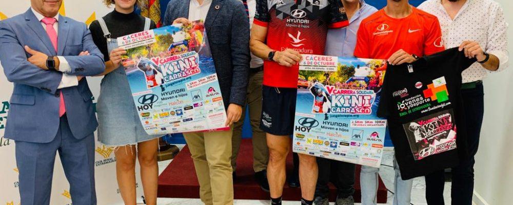 Cáceres acogerá la V Carrera Solidaria Kini Carrasco