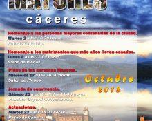 Mes de las personas MAYORES en Cáceres