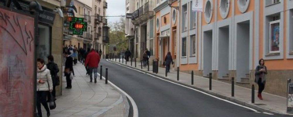 La tarde del viernes se restablecerá el tráfico en las calles San Antón, Parras y Clavellinas