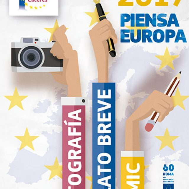 "Concursos Europe Direct Cáceres 2017 ""Piensa Europa"""