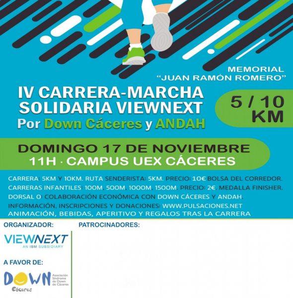IV Carrera-Marcha Solidaria ViewNext