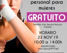 Taller de Autoprotección y Defensa Personal para Mujeres