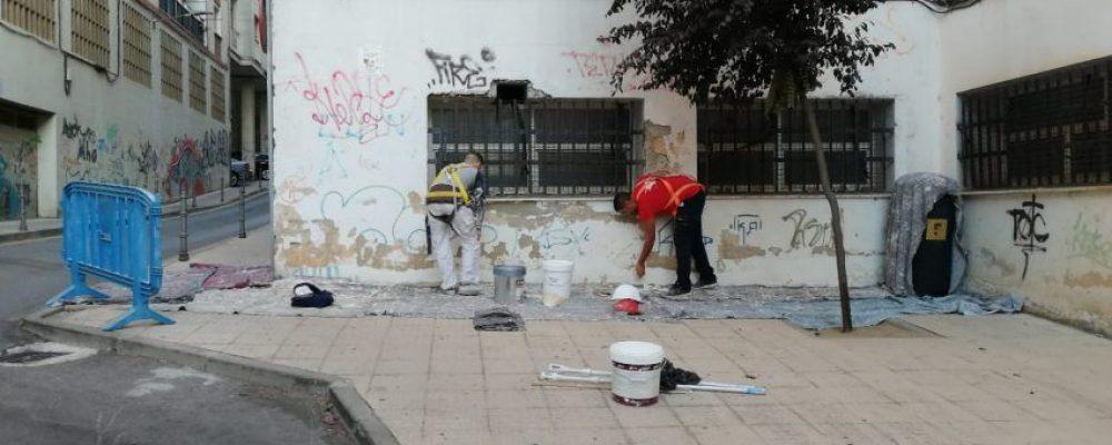 Hernando de Soto comienza su transformación hacia una calle llena de arte y vitalidad