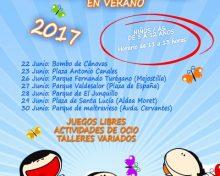 Actividades en Parques Infantiles en Verano