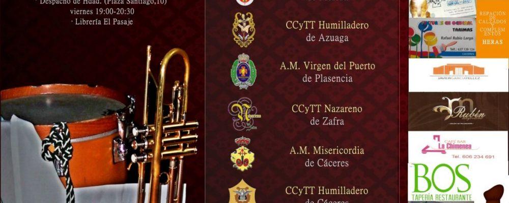El pabellón Serrano Macayo acoge el primer Certamen de Bandas de Música Cofrade