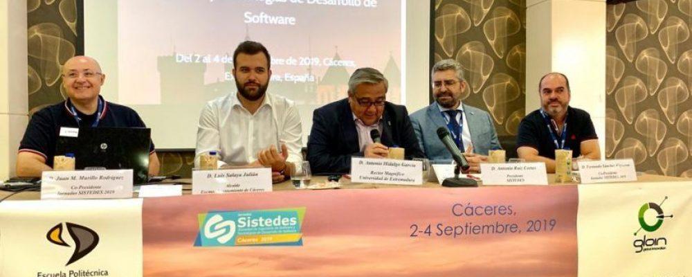 El alcalde de Cáceres inaugura las jornadas de Sistedes que este año baten record con más de 200 profesionales