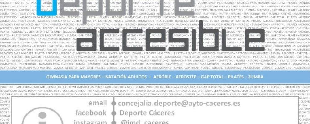 Escuelas Deportivas y Deporte Accesible 2019 -2020