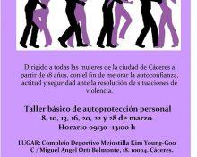 V Jornadas de autoprotección personal para mujeres