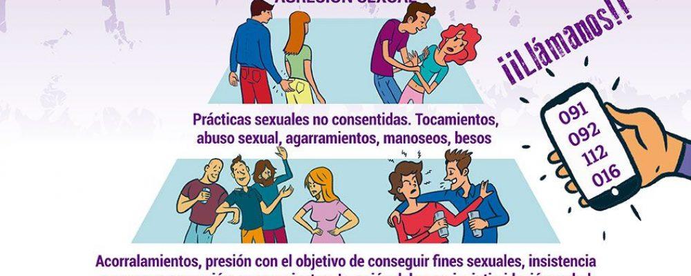 Novatadas en Cáceres libres de Acoso sexista
