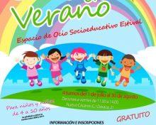 """""""JUEGA EN VERANO"""" 2019 – Espacio de Ocio Socioeducativo Estival"""