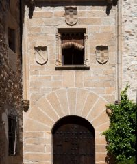 """Casa de Diego García de Ulloa """"el Rico""""."""