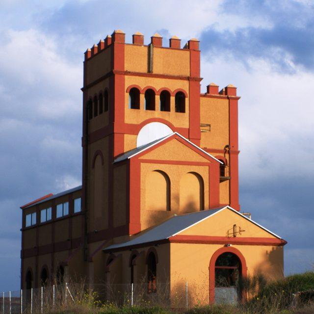 Centre of Interpretation of the Mining Industry in Extremadura. Aldea Moret
