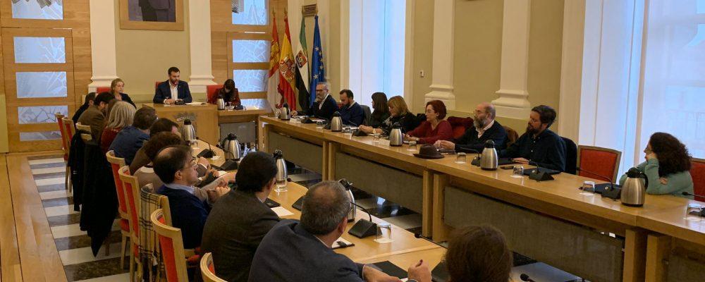 CELEBRACIÓN DEL PLENO INSTITUCIONAL DEL CONSEJO ECONÓMICO Y SOCIAL EN EL AYUNTAMIENTO