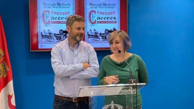 Cáceres celebra la vigésima edición del Mercado Medieval de las Tres Culturas