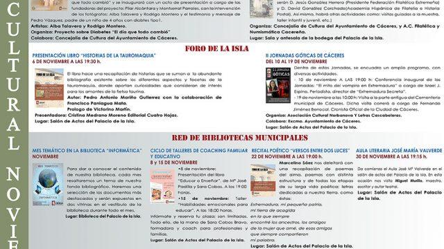 Agenda Cultural – noviembre 2017
