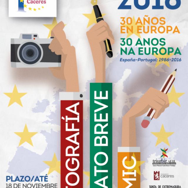 Concursos Europe Direct 2016: «30 años en Europa. España y Portugal: 1986-2016»