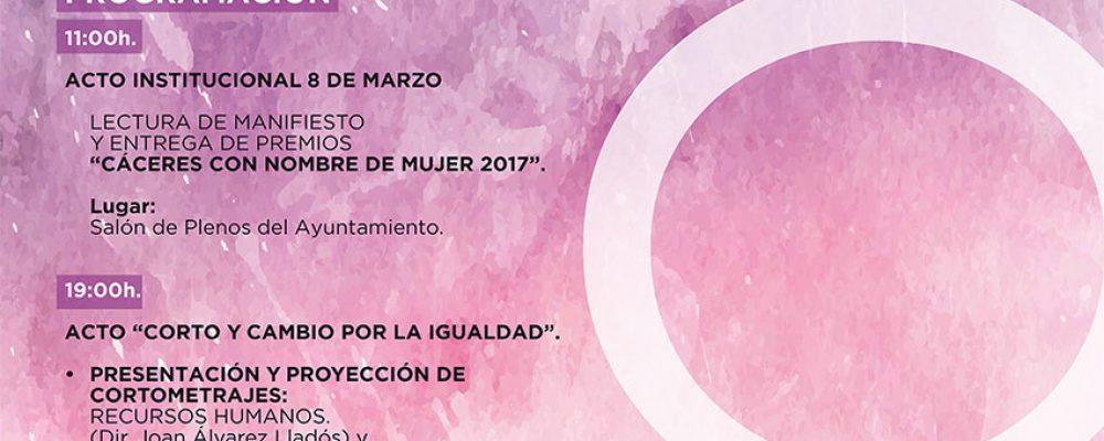 El ayuntamiento organiza varias actividades con motivo del Día Internacional de la Mujer