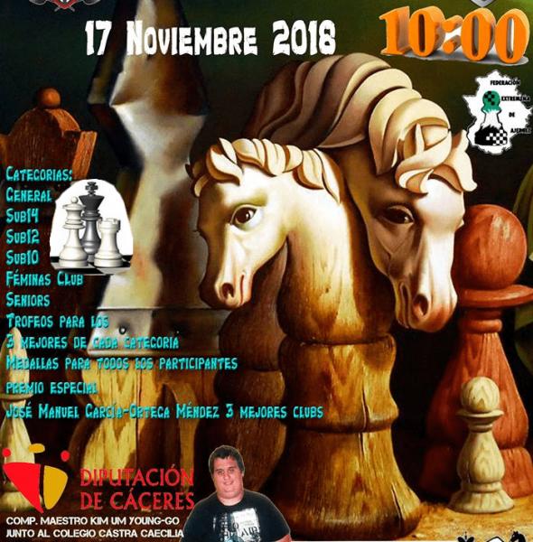 VI Torneo Ajedrez Castra Caecilia