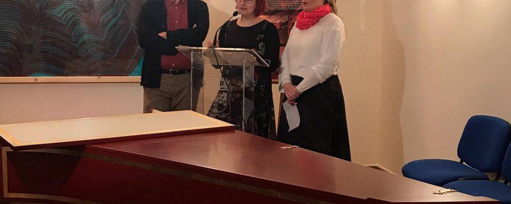 El Ayuntamiento de Cáceres recupera un clave que guardaba el Museo Municipal