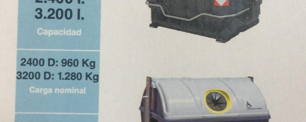 Cáceres contará con nuevos contenedores de carga lateral accesibles
