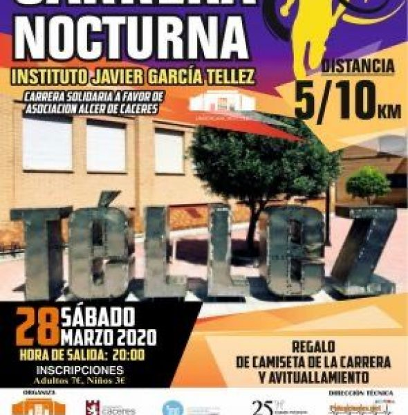 Carrera Nocturna «Instituto Javier García Tellez»