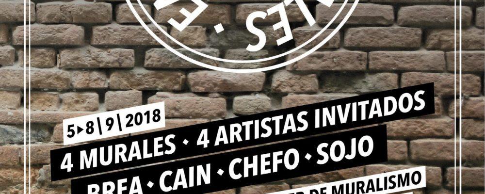 Inaugurada la primera edición del proyecto de arte urbano '300 Murales en las 300'